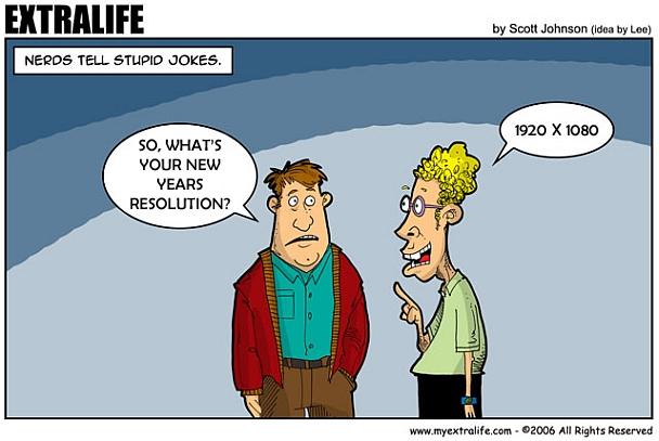 New Years Resolution 2013